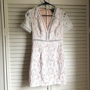 NWT white forever 21 lace dress